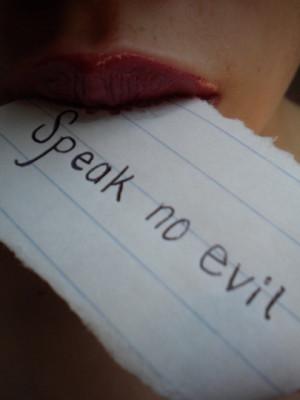 Words Hurt. Stop Spreading Gossip and Rumors.