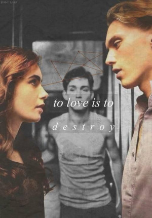 Jace Lightwood or Valentine quote whichever you prefer #tmi