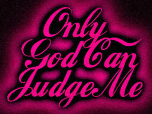 only god can judge me Image