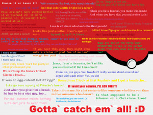 Pokemon Quotes~ by QuilavaFlame22