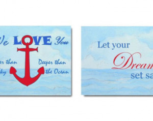 Navy Quotes And Sayings Wall art, nautical quotes.