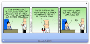 Daily Dilbert - The main window where you can see the comic for the ...