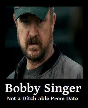 Bobby Singer the Crazy Drunk Old Genius