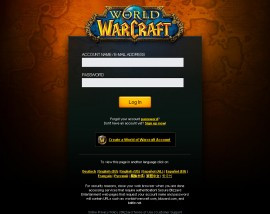 Even more World of Warcraft accounts have recently been