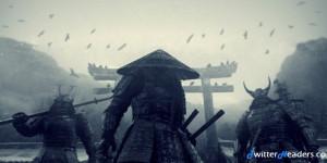 Japanese Samurai Monsters Twitter Header