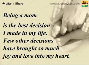 Being a Mom Quotes | life inspiration quotes: Being Mom inspirational ...