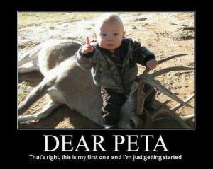 "Famous Female Hunter Posts ""Dear PETA"" Pic That Has Liberals ..."
