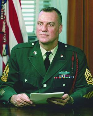 william o wooldridge sergeant major of the army