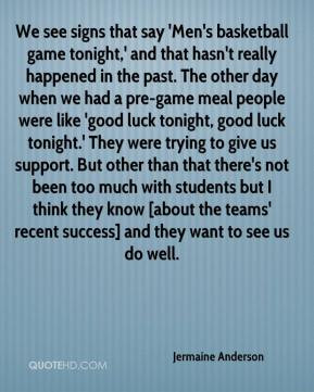 Good Luck Basketball Quotes