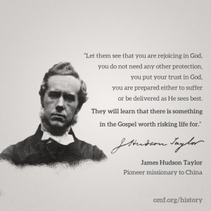 Gospel & Risk – Hudson Taylor Quote