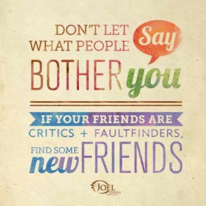 Joel Osteen - quote about friends