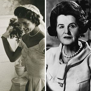 Jacqueline Kennedy Onassis and Rose Kennedy