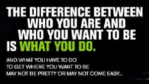 Who you want to be