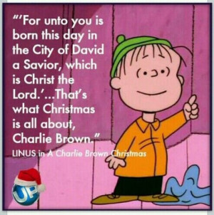 Charlie Brown Christmas ~ Linus