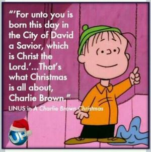 Charlie Brown Christmas ~ Linus
