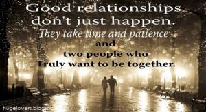Quotes Effort In Relationships