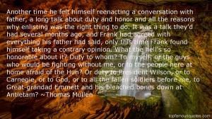 Top Quotes About Honor And Duty