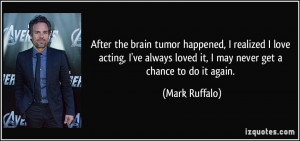 Brain Tumor Cancer Quotes