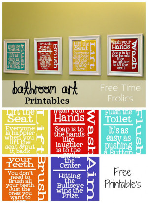 For more free printables for your home decor click { HERE }