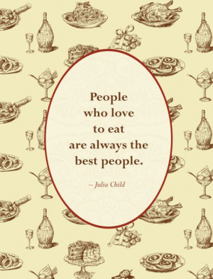 Quotes for Food Lovers 1