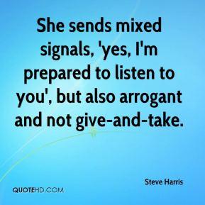 mixed signals quotes