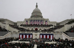 President Barack Obama's Inaugural Address 2013 Scott Andrews-Pool ...