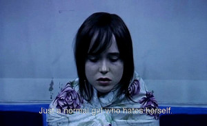 freaky, girl, hate, normal, quote, tracey fragments