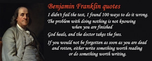 Benjamin Franklin and His Relation to American Identity