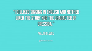 disliked singing in English and neither liked the story nor the ...