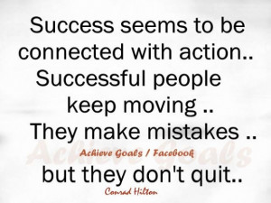 Quotes about success in life love life dreams success seems to be ...