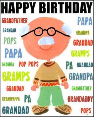 Happy Birthday Grandpa – Family & Relations