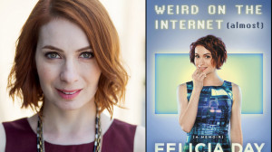 motivational quotes on being yourself from proud geek Felicia Day