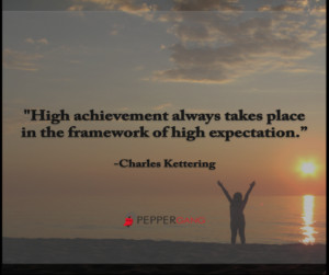 High Expectations Quotes