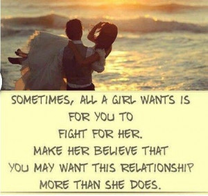 All a girl wants....♡