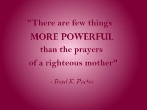 Prayer Lds Quotes Sincere and heartfelt prayer