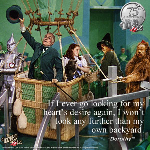Wizard Of Oz Quotes Hearts Desire ~ The Wizard of Oz on Pinterest | 26 ...