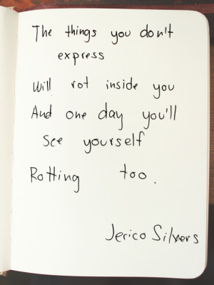art quotes writing poetry poem jerico silvers epigram