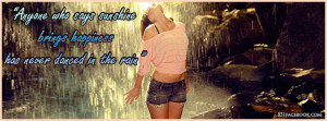 quote-rain-happy-playing-in-the-rain-woman-girl-person-umbrella-black ...