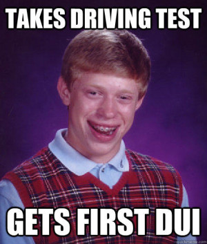 Here are some of our favorite Bad Luck Brian memes: