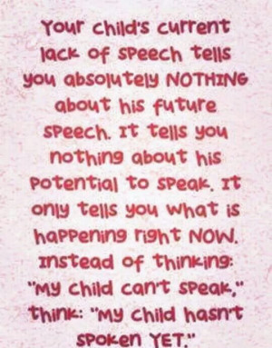 Apraxia pep talk for you!