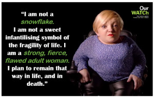 Stella Young a passionate advocate for women disability and humour