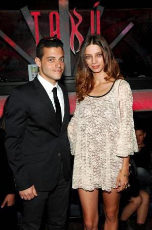 Angela Sarafyan And Rami Malek