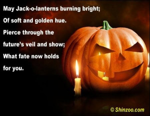 ... the futures veil and showwhat fate now holds for you halloween quote