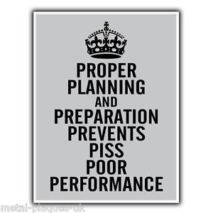 Proper-Planning-and-Preparation-7-Ps-Military-Quote-METAL-SIGN-PLAQUE