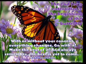 Post image for WORTH SEEING: Poster – The end for the caterpillar is ...