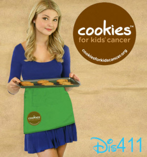 stefanie scott cookies for cancer march 2013 Stefanie Scott Is An ...