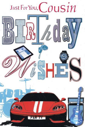 Cousin Birthday Cards - 4AllCards