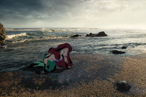 disney characters face reality for unhappily ever after