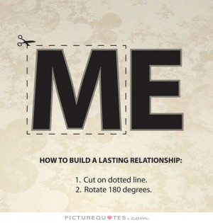 How to build a long lasting relationship Picture Quote #1