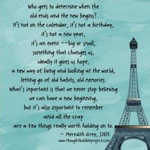 Grey's Anatomy , quotes